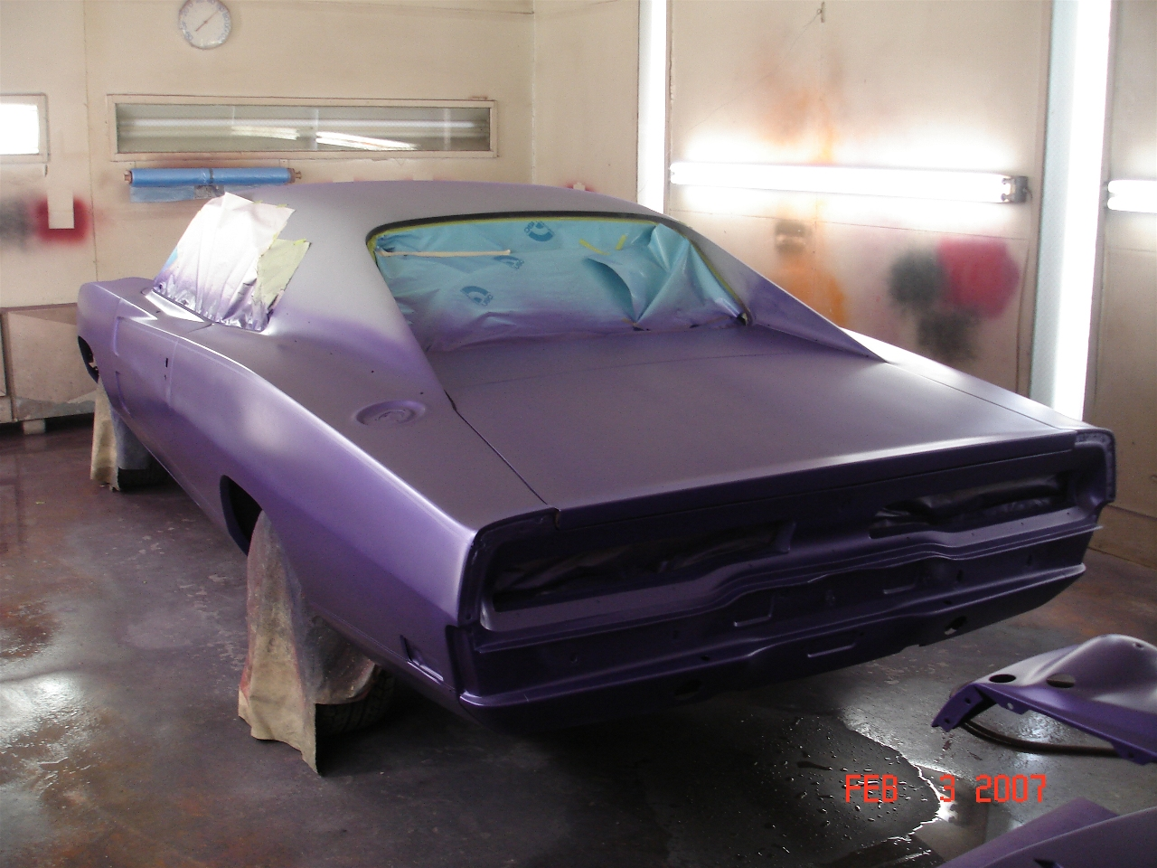 High impact performance mopar auto club 1970 charger restoration body shop