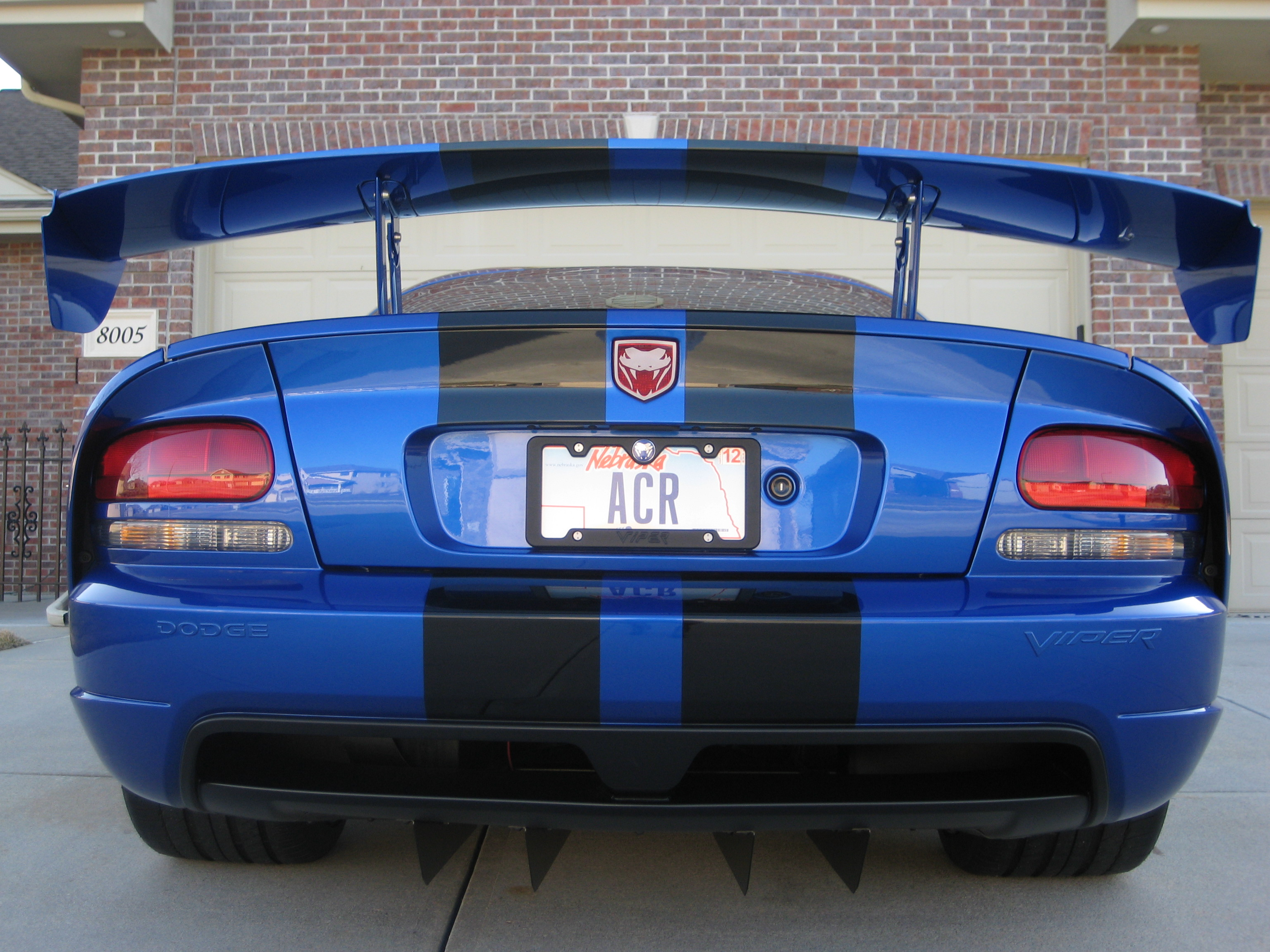 muscle car garage ideas - What s your license plate say