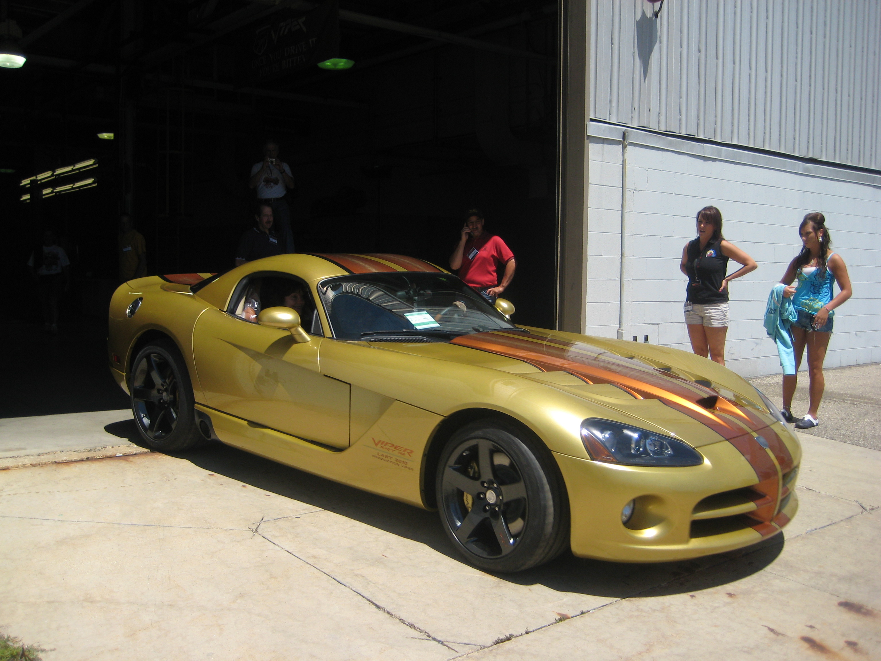 Last Gen Iv Viper Roll Of Assembly Line July 1 2010