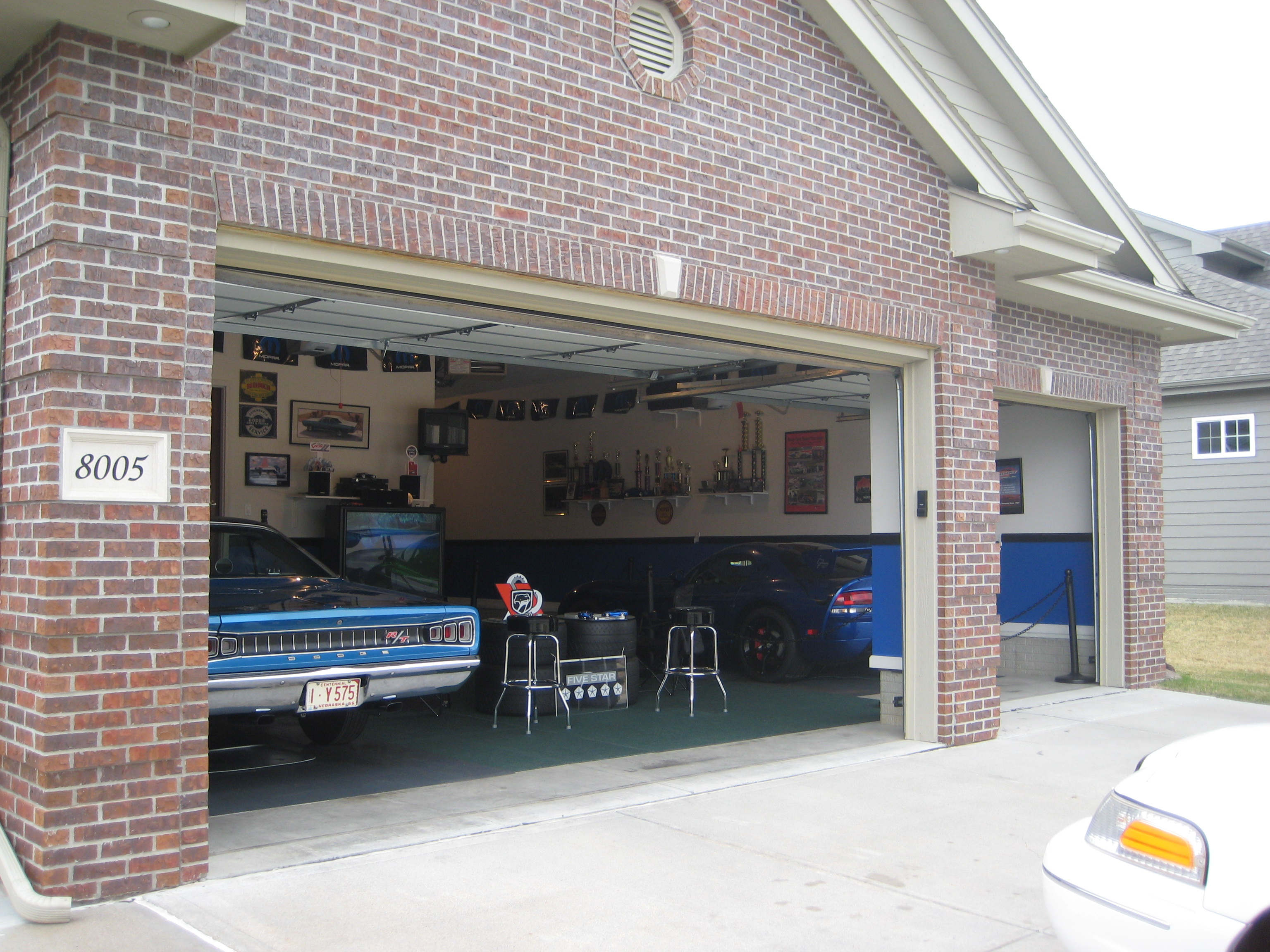 Man Cave Above Garage : High impact performance mopar auto club bruce s man cave